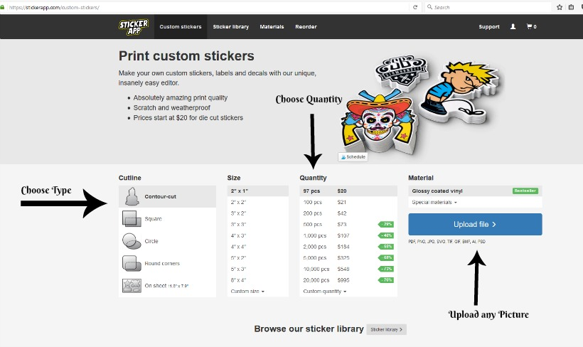 The Best Place To Order Custom Stickers For Any Occasion - Order custom stickers