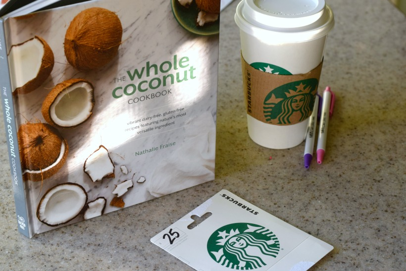 Starbucks and coconut cookbook giveaway!