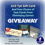 Holiday Giveaway From Chemistry Corner