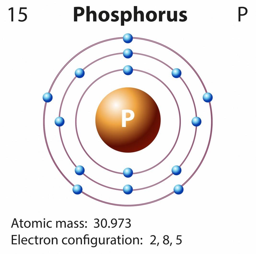 hight resolution of phosphorus electron configuration bohr model