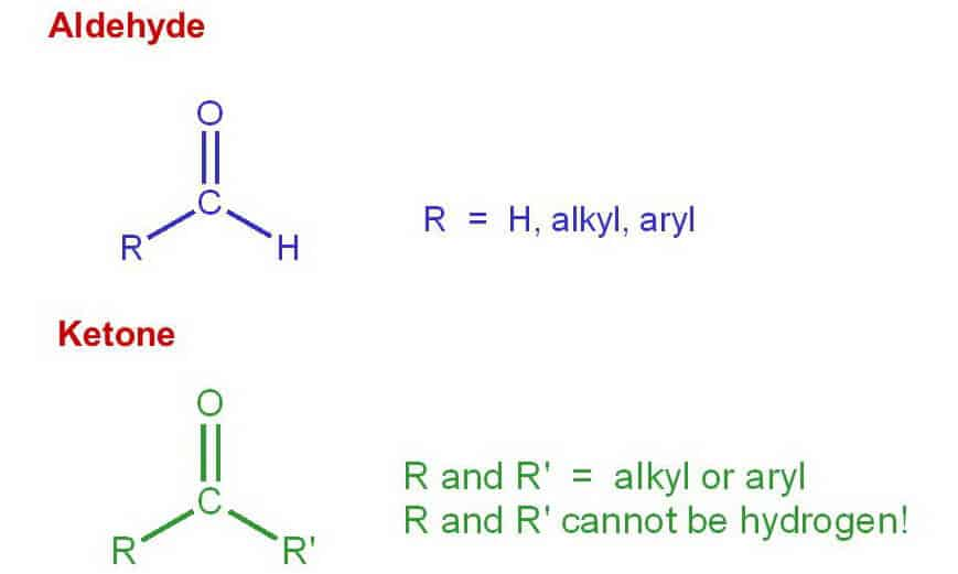 Structure-difference-an-aldehyde-and-a-ketone