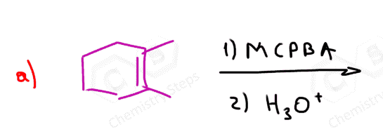 Anti Dihydroxylation of Alkenes with MCPBA and Other