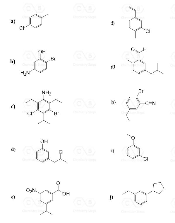 Printables of Iupac Naming Practice Worksheets