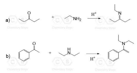 Reactions of Aldehydes and Ketones with Amines: Imines and