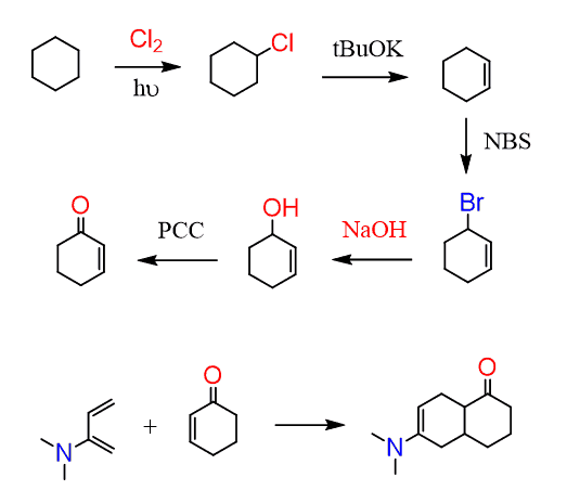 Diels Alder Reaction in Organic Synthesis Practice
