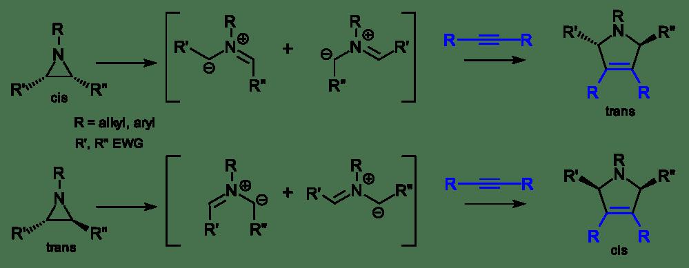medium resolution of aziridine