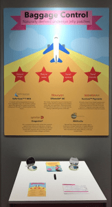 Safic Aclan baggage control poster