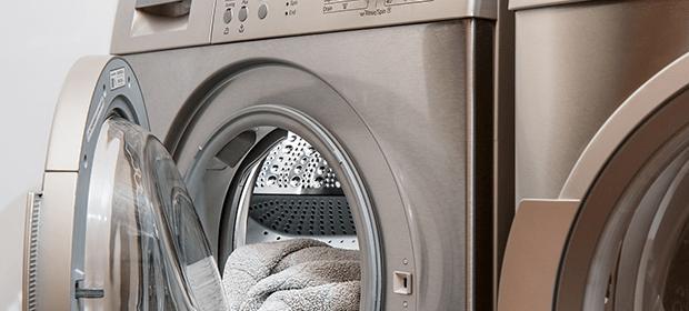 towels in washing machine
