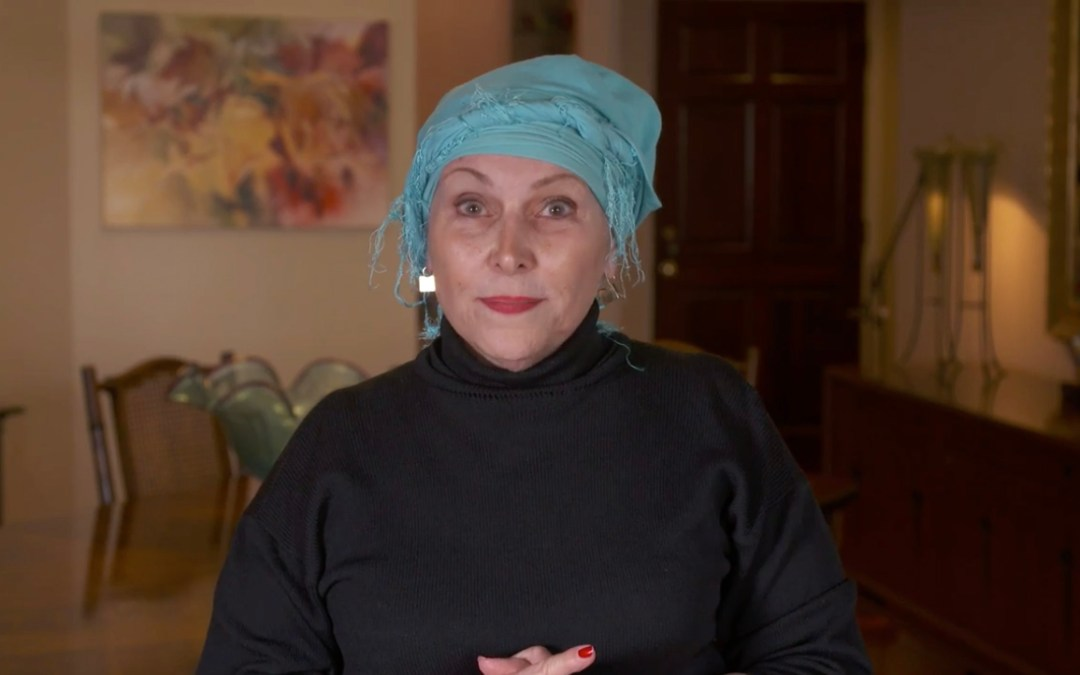 "Instructional Video for ""The Twist"" Scarf Head Wrap"
