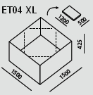 ET04 XL | Ecco Tarp