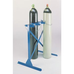 Double-Sided Two Steel Cylinder Rack