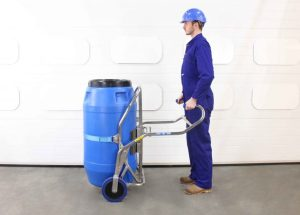 STS Safety Drum Trolley