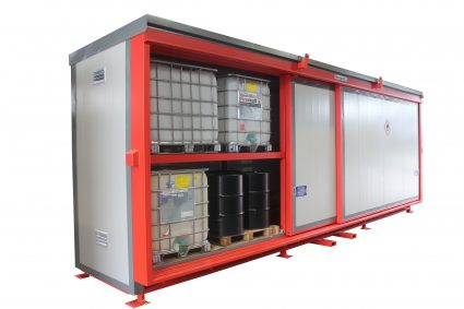Firevault flammable material storage