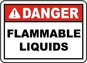Danger Flammable Liquids