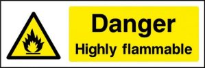 Danger Highly Flammable