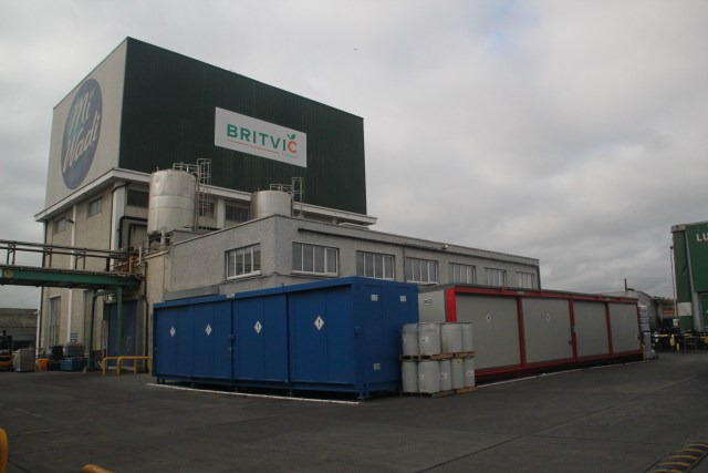 32 Pallet Corvault Britvic Facility