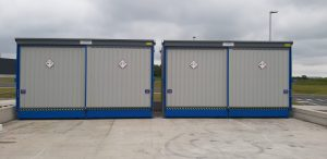 Corrosive IBC Store 64 DSD Corvault Solution After