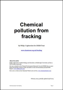 Fracking report image
