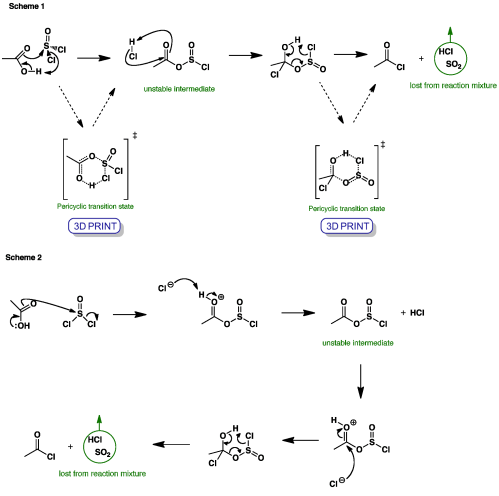 small resolution of thionylchloride