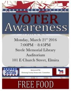 Voter Awareness Flyer