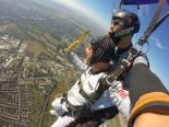 men doing Skydiving