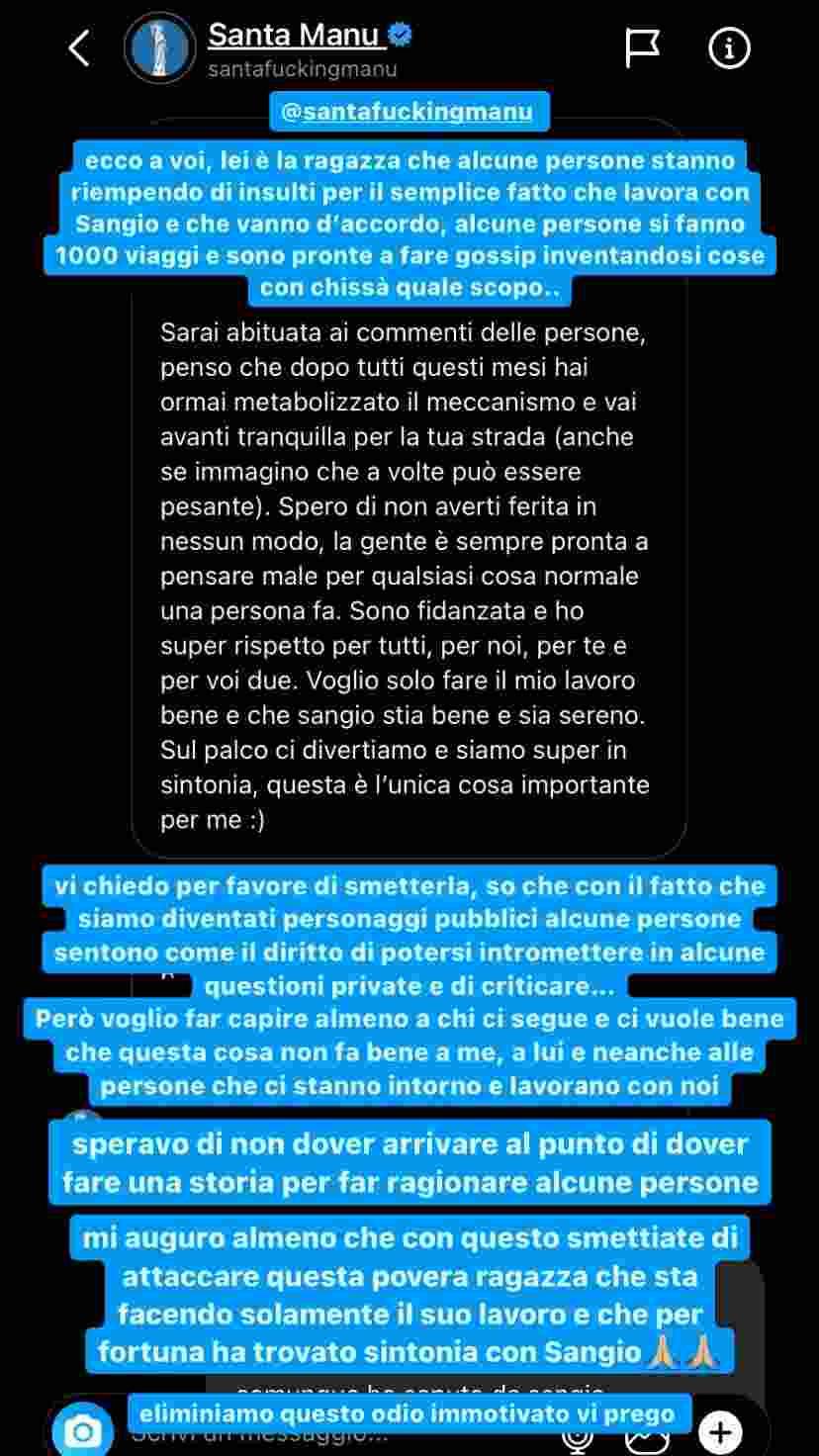Stories Giulia Stabile (Instagram)