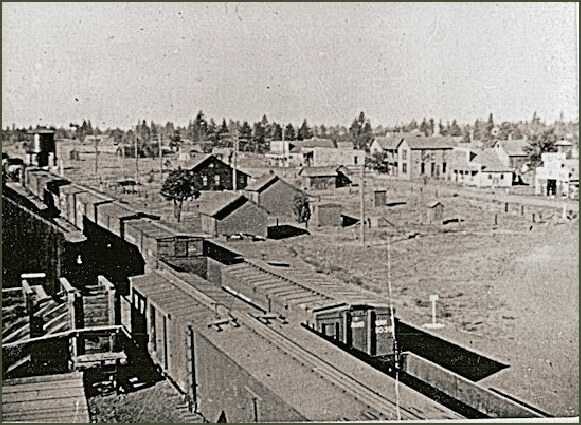 View of Tyler from the Northern Pacific Depot