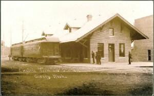 Electric Train Depot