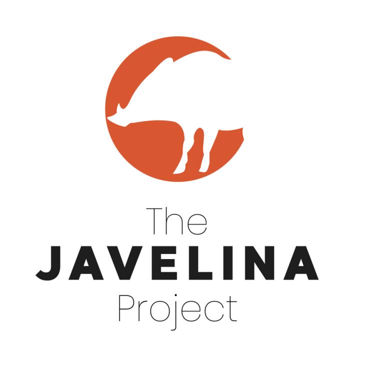 orange javelina with javelina project written below