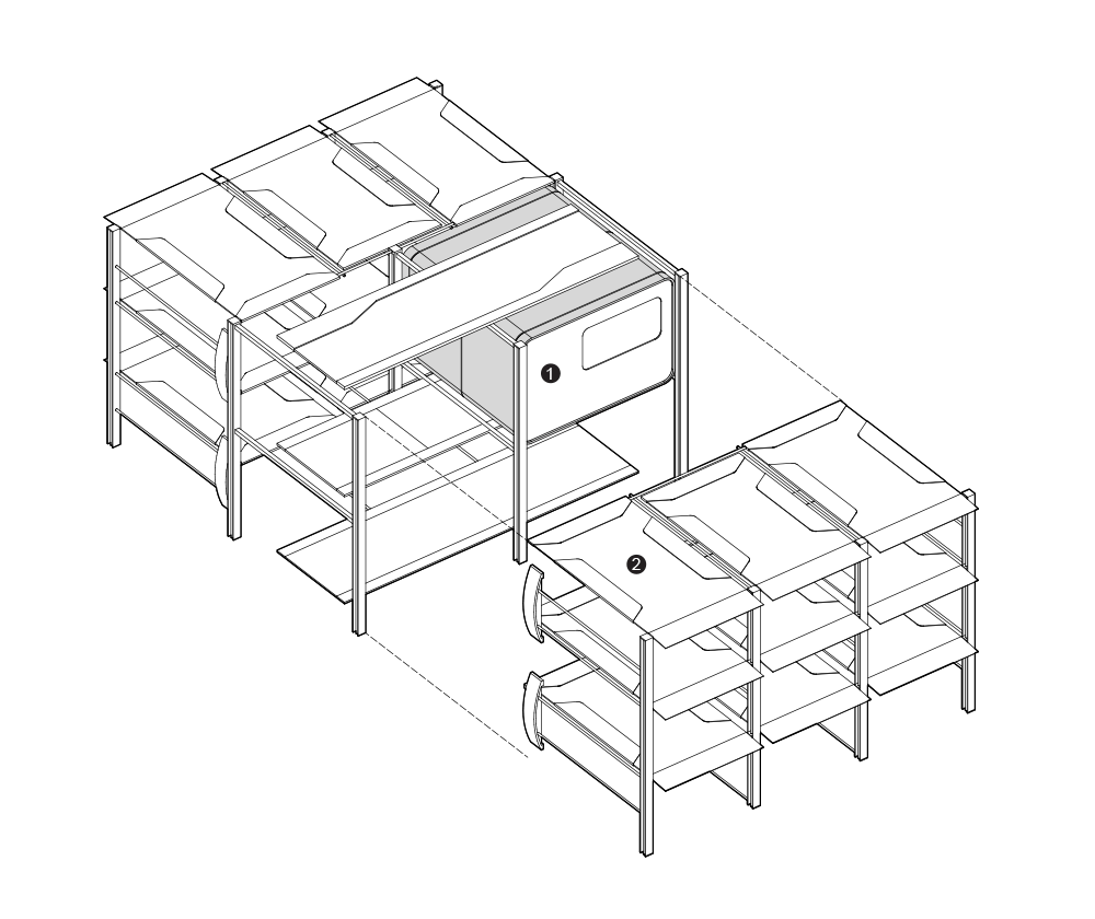 Isometric view overall