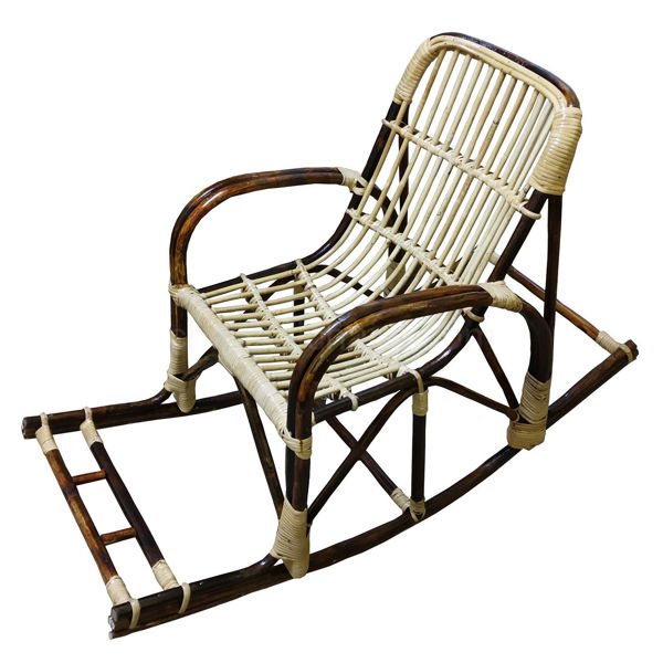 Depending on the kind of product, its price ranges from. Bamboo Rocking Chair Price - Light Brown Bamboo Netted ...