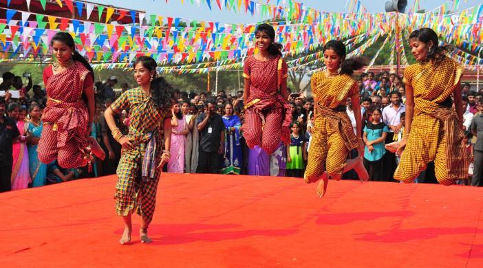 Pongal celeberation 2016