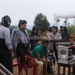 Kaja Agarwal in Shooting Spot