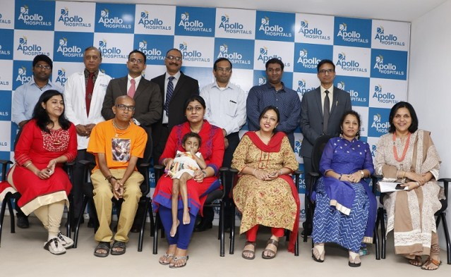 Apollo Hospitals creates history by performing a combined living donor Liver Transplant & Open Heart Surgery