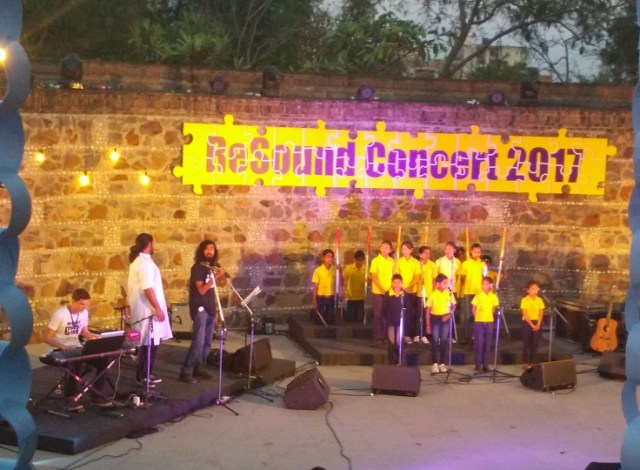NEWS18.COM'S 'MUSIC FOR A CAUSE' CAMPAIGN FITTINGLY CONCLUDES AT RESOUND CONCERT 2017