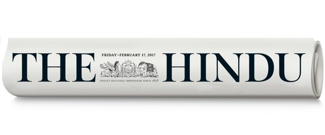 The Hindu Paper Relaunched