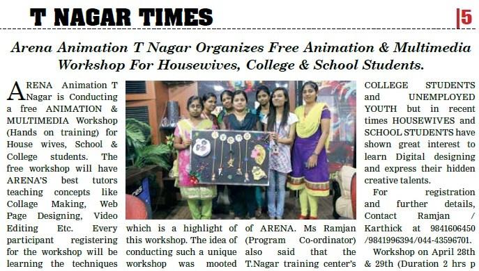 Tnagar times news