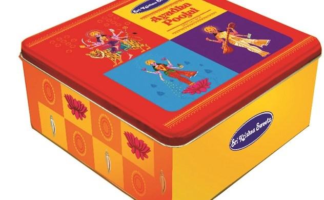 Ayutha Poojai Sweet Box