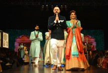 Actress Ragini Dwivedi Walked the ramp for Shravan Kummar at Bangalore Times