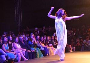 Aindrita Ray grace the Ramp for Manoviraj Khosla at Bangalore Times Fashion