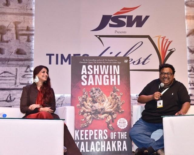 Ashwin Sanghi - KOTK Trailer launch
