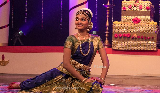 P.Lekha Bharatanatyam dancer