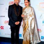 Karan Johar & Rekha