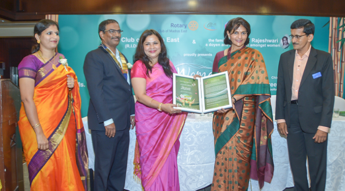Women Entrepreneur Award to Ms. Maushumi Thakurta Nag