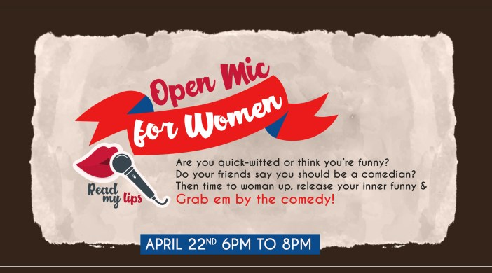 First Open Mic for Women Comedians