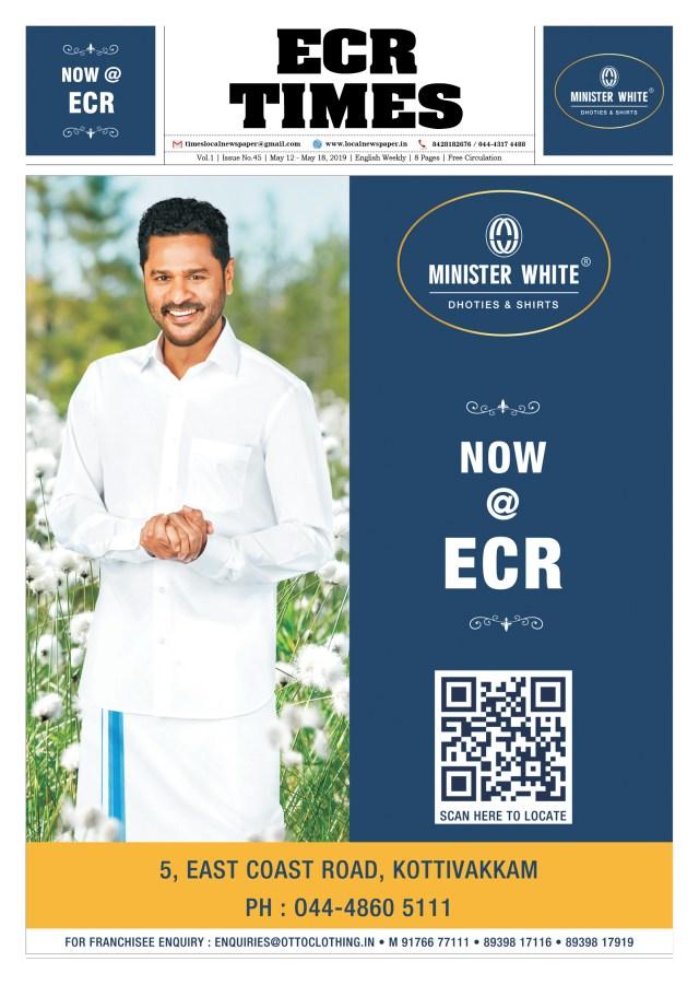 Minister White ECR OMR Times
