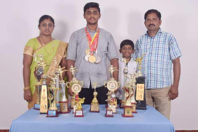 V.THARUN_Family
