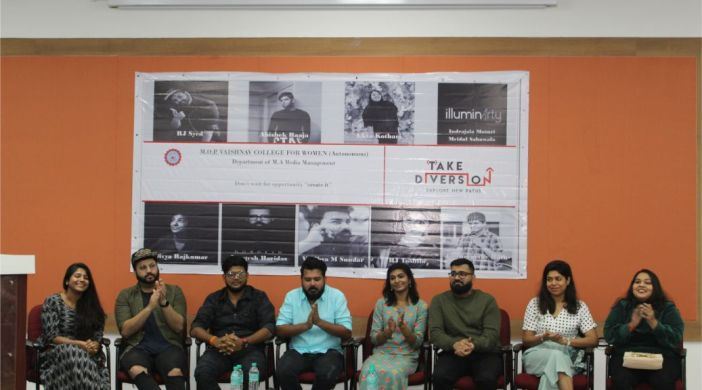 M.O.P Vaishnav College For Women organizes PR Campaign on off-beat careers