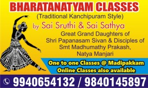 Bharatanatyam classes