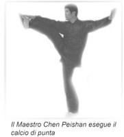 I calci nel Taijiquan stile Chen Xiaojia